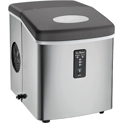 Igloo ICE103 Counter Top Ice Maker full view.