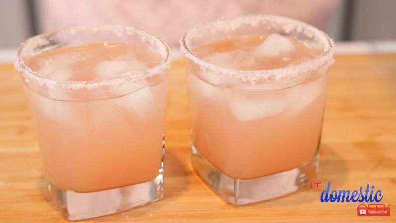 Valentines Day Mocktails - Pink Palomas